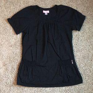 Koi Black Women's Scrub Top. Size Medium.